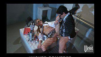 Fodendo a secretaria gostosa em filme porno caseiro sexo